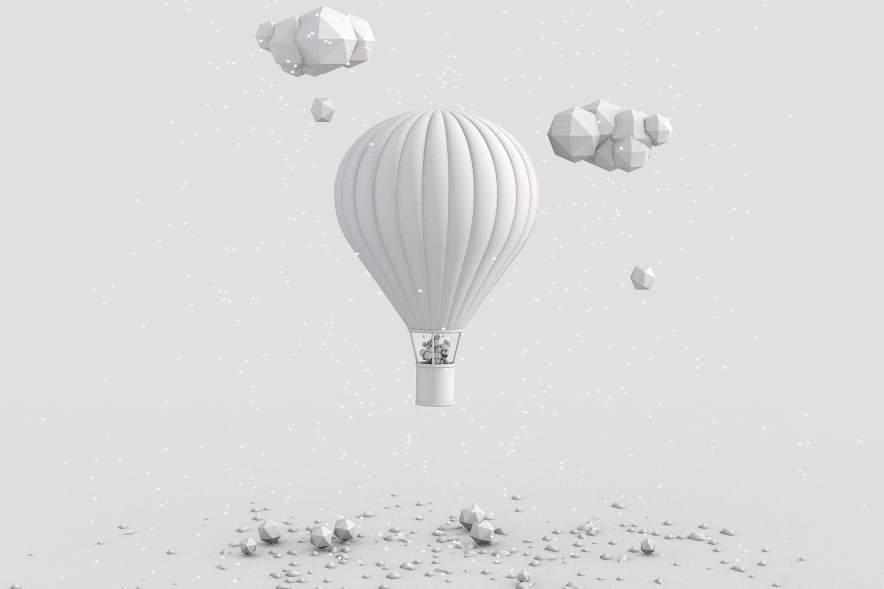 Greyscaleballoon